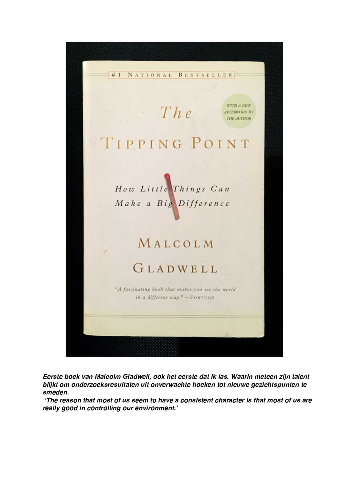 Gladwell Tipping